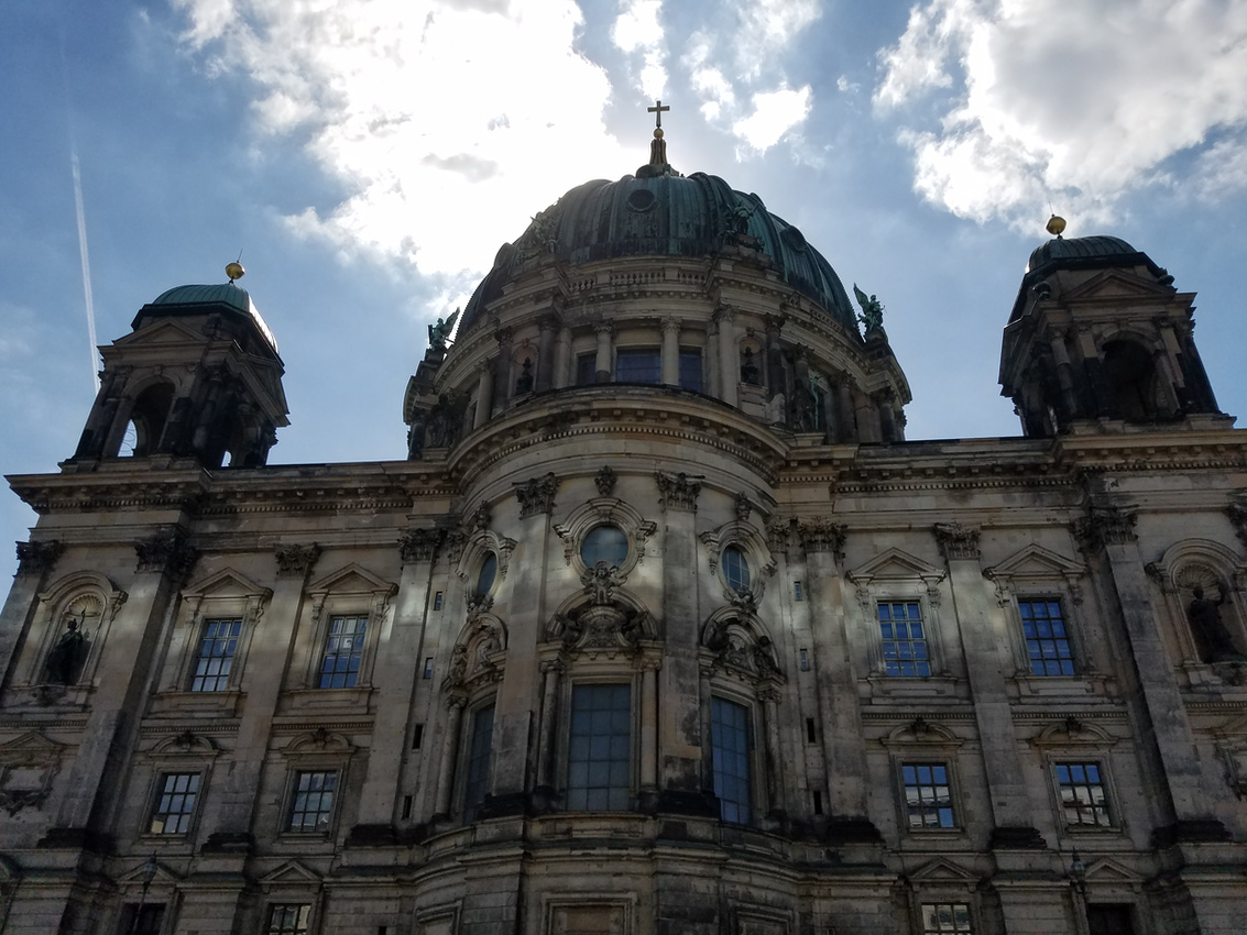 Berliner Dom in the Sun